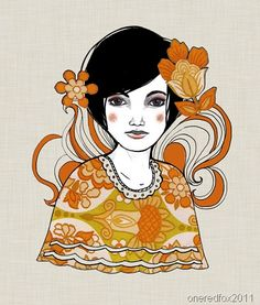 """""""Josephine"""" is a paper and digital collage with pen, pencil and ink."""