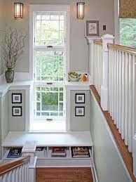 Windows in stairs