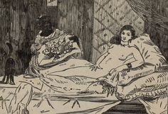 Find artworks by Édouard Manet (French, 1832 - on MutualArt and find more works from galleries, museums and auction houses worldwide. Edouard Manet, Pierre Auguste Renoir, Olympia, French Impressionist Painters, Francisco Goya, Camille Pissarro, Paul Gauguin, Wood Engraving, Still Life Photography