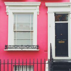 Pink & black in London