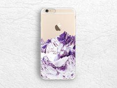 Snowy Mountain transparent Clear plastic case for iPhone 7 plus, LG G5, LG G6, Samsung S8 Plus, S6 edge clear soft rubber case for Nexus 6P, Nexus 5X -A18