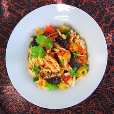 Feeding a festive crowd: North African Chicken and Couscous 'Everything' Salad