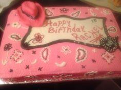 Rachel's birthday cake 2014 - 15yrs old