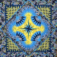 Golden Harvest, Quiltworx.com, Made by Connie Lange