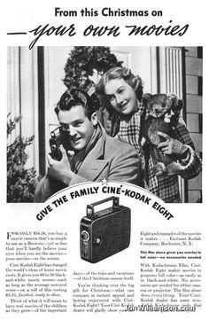 Kodak Vintage Christmas Ad