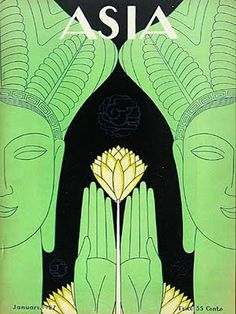 It's About Time: Art Deco Interpretations of Asian Themes by American Illustrator Frank McIntosh 1901-1985