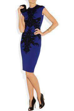 Big wish, big price but beautiful! Alexander McQueen|Jacquard stretch-knit dress|NET-A-PORTER.COM
