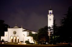 Sacred Heart Chapel at dusk | LMU Magazine