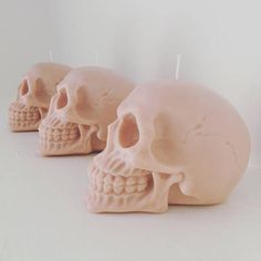Wedding Favour Candle - Skull Candle - Soy candle - Wedding candle - Vegan wedding favours - Pastel wedding - Pastel Skull candle