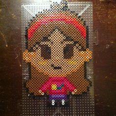Mabel Pines - Gravity Falls perler beads by luxlu1216