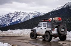 Expedition Modded Jeeps - Let's see 'em! - Page 478 Jeep 4x4, Jeep Wrangler Camper, Jeep Wrangler Rubicon, Jeep Truck, Jeep Wrangler Unlimited, Jeep Wranglers, White Jeep, Jeep Photos, Jeep Camping