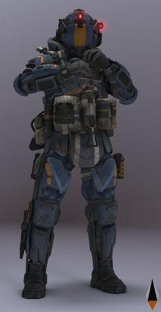 Futuristic Armour, Futuristic Art, Armor Concept, Concept Art, Space Soldier, Tactical Armor, Combat Armor, Samurai Artwork, Space Marine