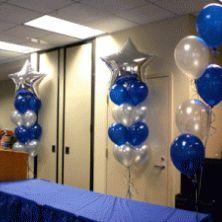 Decoración de Graduación Primero, para facilitar la decoración, deben escoger un tema decorativo. Pueden decorar con guirnaldas, globos, confeti, cortinas, etc., que representen el tema escogido. A…