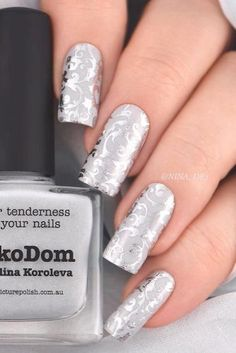 Sweety and Cute Wedding Nail Designs picture 4