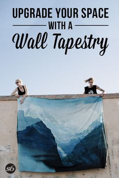 Upgrade your space with a wall tapestry from Society6! Check out the link below <3