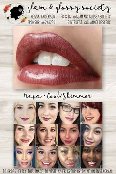 Napa LipSense, Cool/Blue Base, Shimmer Finish To Order: Click this image to visit Glam & Glossy Society's FB Client Group or DM me on Instagram @Glam.and.Glossy.Society  Keywords: Lips, beauty, makeup, fashion, 2017, matte, gloss, lip color, lip stick