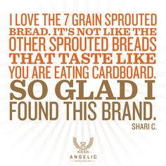 We don't like eating cardboard. Neither do you.  Sprout Your Wings™ means NEVER settling.