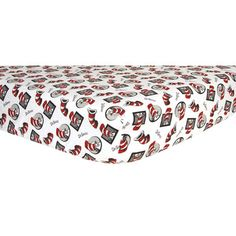 Trend Lab Dr. Seuss Cat In The Hat Flannel Crib Sheet | Wayfair