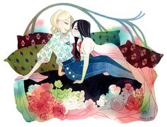 I'm Riikka, also called tir-ri, illustrator from Finland. This blog is for My art and inspiring...