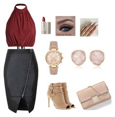 """""""Bez naslova #1"""" by semysemy ❤ liked on Polyvore featuring Valentino, Christian Dior, Ilia, Michael Kors and Monica Vinader"""