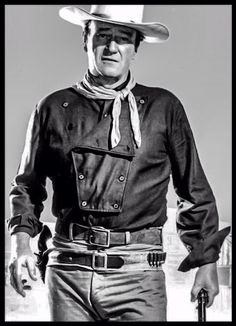 The Man Who Shot Liberty Valance- John Wayne as Tom Doniphon.