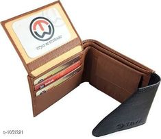Wallets Men's Stylish PU Leather Wallet  *Material* PU Leather  *Size* Free Size  *Card Slots* 6  *Compartments* 2  *Coin Pouch * 1  *Description* It Has 1 Piece Of Men's Wallet  *Pattern* Solid  *Sizes Available* Free Size *   Catalog Rating: ★4 (130)  Catalog Name: Men's Stylish PU Leather Wallets Vol 3 CatalogID_128039 C65-SC1221 Code: 922-1051321-