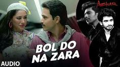 Presenting Bol Do Na Zara Full Song starring Emraan Hashmi, Nargis Fakhri & Prachi Desai in lead roles from upcoming Azhar directed by Tony D'Souza, produced. Bollywood Songs, Bollywood News, Song Lyric Quotes, Song Lyrics, Best Songs, Love Songs, Song Hindi, Romantic Status, Songs 2017
