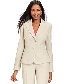 Le Suit Jacket, Washable Blazer - Jackets & Blazers - Women - Macy's