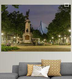 Burgemeester Hofmanplein op het Noordereiland in Rotterdam