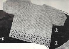 Extrait: tricotons sa layette N° 68 de 1965 - Brassière raglan.pdf