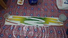 jual stiker body -untuk mobil katana -isi sepasang kiri kanan -warna hijau sesuai foto,tomato wtc 082210151782