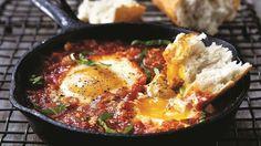 Eggs in Hell Recipe   The Chew - ABC.com