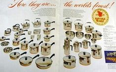 A Photographic History of Revere's Product Lines The Foundation Years – Prior to Paul Revere was first a master silversmith, then a patriot general in the Revolutionary War. and finally a foundry owner – manufacturing copper& castings … Continue reading → Paul Revere, Vintage Advertisements, Vintage Ads, Retro Pink Kitchens, The Holy Mountain, Vintage Stoves, Revere Ware, Vintage Kitchenware, Oldies But Goodies
