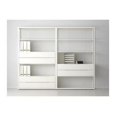 FJÄLKINGE Shelving unit with drawers  - IKEA. 236cm W x 35cm D x 193cm H. $498