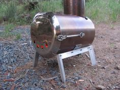 Make your own wood stove