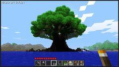 Minecraft giant tree
