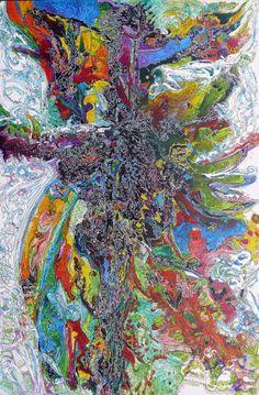 """Saatchi Art Artist Igor Eugen Prokop; Painting, """"3. Shatan Tango"""" #art"""