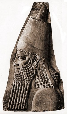 Sargon II in Royal Fashion Limestone Sculpture.Sargon II was an Assyrian king. Sargon II became the ruler of the Assyrian Empire in 722 BC after the death of Shalmaneser V. Wikipedia