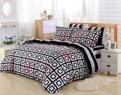 Dolce Mela 6pc Duvet Cover FULL QUEEN Bedding Sheet Set Majorca Pattern  #DolceMela