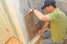 How to Tile a Bathroom, Shower Walls, Floor, Materials (100 pics, Pro-Tips) - One Project Closer