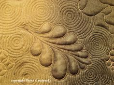 """Tutorial  -  Diane Gaudynski """"A New Tradition in Quilting"""": Celtic Bubbles"""