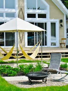 The Triple Hammock | 32 Outrageously Fun Things You'll Want In Your Backyard This Summer