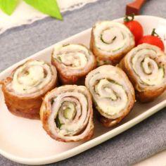 Japanese Vegetables Recipe, Easy Japanese Recipes, Tasty Videos, Food Videos, Pork Recipes, Healthy Recipes, Healthy Food, Easy Cooking, Cooking Recipes