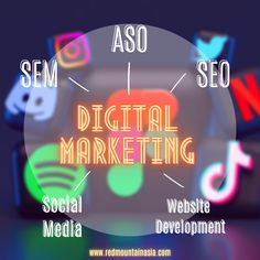 Are you planning on entering online market and don't know where to start? Our digital marketing team provides you all comprehensive services needed to boost conversion and exposure. To learn more, you could visit our website or email us at enquiry@redmountainasia.com App Marketing, Marketing Approach, Digital Marketing Strategy, Media Marketing, Online Marketing Consultant, Online Marketing Services, Reputation Management, Website