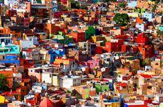 Interesting facts about Mexico: Guanajuato Architecture.