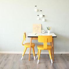 Kinderstoeltje okergeel | Voor de kinderen | Lieverkoekje.nl - Webshop