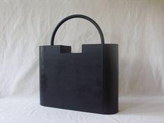 Minimalist Sculpture 'Lock' | City Luggage | Associative Geometric Art | Fashion Art | Metal Sculpture | Welded Sculpture | 3-D Art Deco