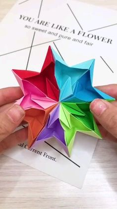 20 Best Easy Paper Origami Models Origami is a superb effort to utilize your free time or even make important … Diy Crafts Hacks, Diy Crafts For Gifts, Diy Arts And Crafts, Creative Crafts, Wood Crafts, Paper Crafts Origami, Paper Crafts For Kids, Diy Paper, Origami Paper Folding