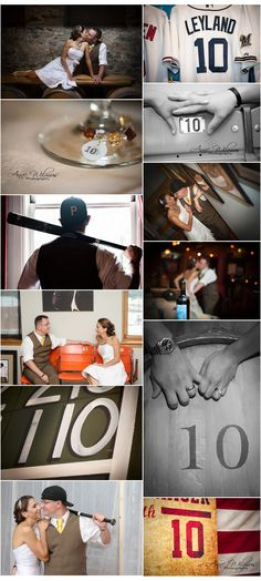 Roberto Clemente Museum wedding photography, 10 ten year vow renewal I like the idea of taking photos with how many years you have been married.