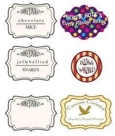bertie botts every flavor beans label - Google Search